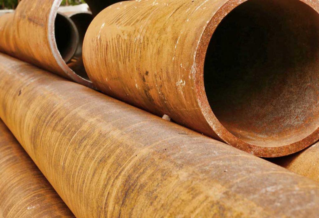 Thép ống tròn kích thước lớn